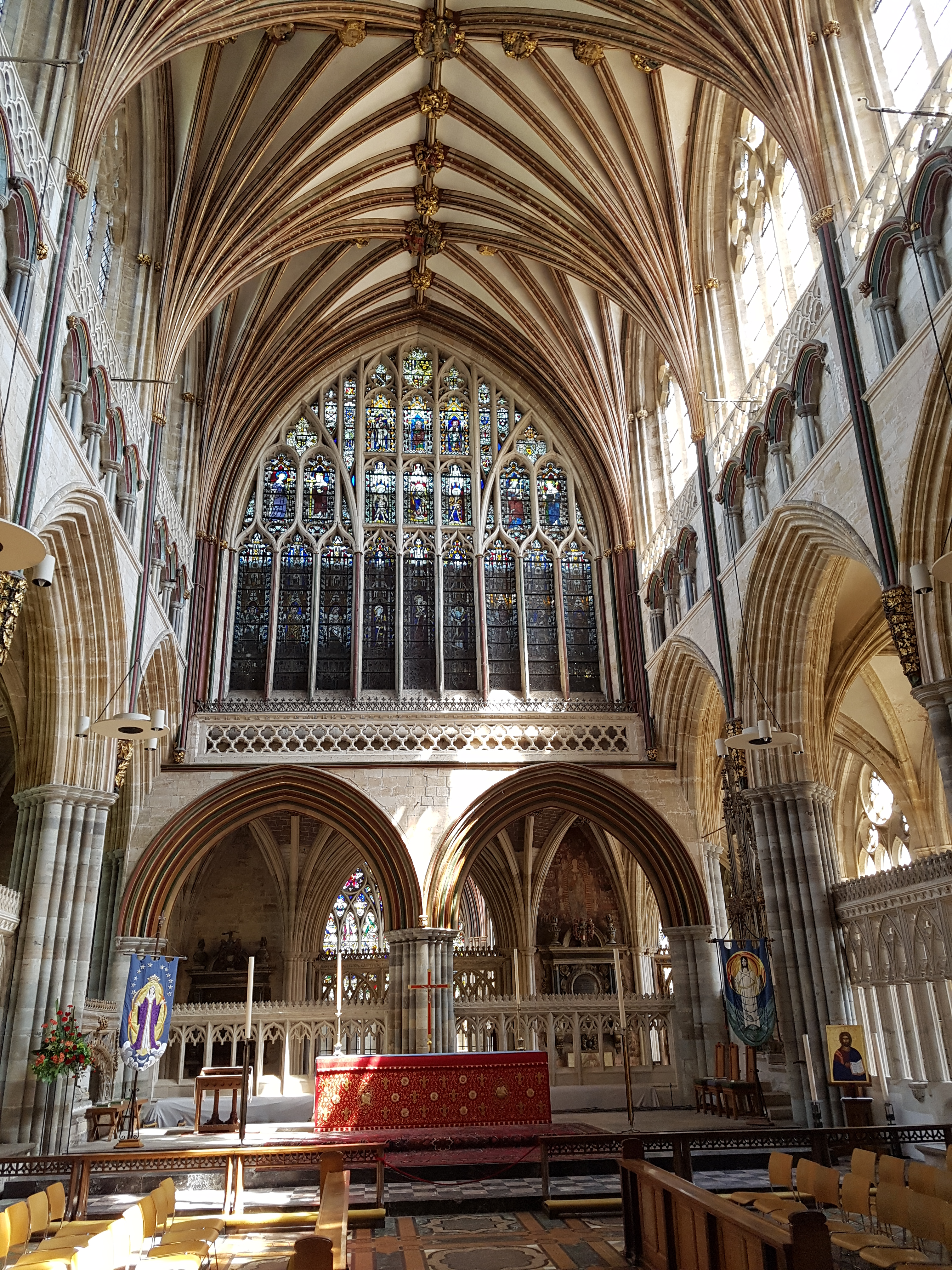 Exeter Cathedral - Cathedrals and Churches I've Visited on ...